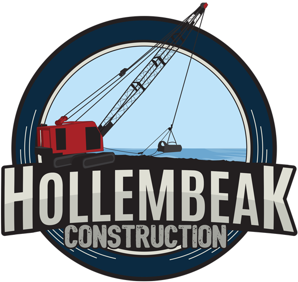 Hollembeak Construction Shoreline Services logo