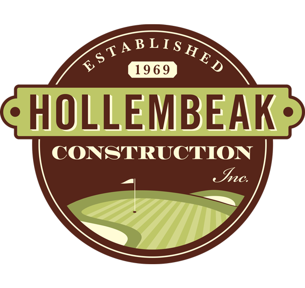 Hollembeak Construction Golf Services logo
